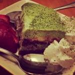 New Instagram: green tea tiramisu.. a lot better than i expected