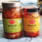 New Instagram: impulse kimchi buy at the farmer's market down the block. radish and cabbage.