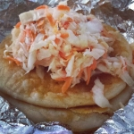 New Instagram: pupusas for breakfast? you better believe it