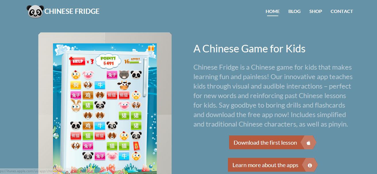 Chinese Fridge Website Redesign
