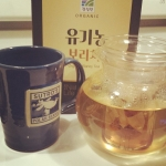 New Instagram: barley tea naturally caffeine free so i can actually sleep #tea #barley #korean #sleep #drinks #beverages #organic #healthy #health