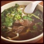 New Instagram: 家附近有個西安餐廳賣這個紅燒牛肉麵 #手工麵 #牛肉麵 #西安 #晚餐 #nomnom #好吃 #food #foodporn #soup #noodles #beef