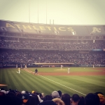 New Instagram: A's Yankees.. terrible game.. #oakland #athletics #bayarea #mlb #baseball #yankees