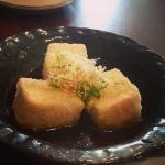 New Instagram: 很漂亮的 agedashi tofu #美食 #好吃 #日式 #nomnom #foodporn #food #tofu #豆腐 #炸豆腐 #fried #japanese