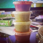 New Instagram: fat stacks… of #salsa #nomnom #food