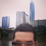 New Instagram: glassholing in #Austin #Texas #google #glass #travel #fun #tech #technology #river #美國 #旅行 #德州