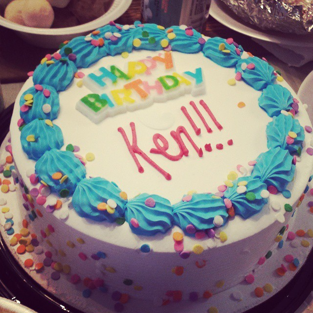 Ken Star Track And Star Wars Birthday Cake