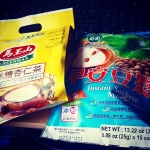 New Instagram: 下雨天讓我想喝杏仁茶和豆漿  #下雨 #杏仁 #杏仁茶 #茶 #豆漿 #豆 #天氣 #飲料 #drinks #almond #soymilk