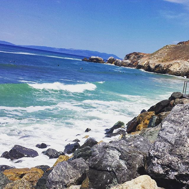 New Instagram Pacifica Beach California Summer Travel Hot Warm Sunny Bayarea