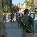 New Instagram: glass on glass selfie in the Kremlin #slefie #kremlin #moscow #russia #travel #throughglass #google #glass #tech
