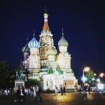 New Instagram: St. Basil Cathedral in Red Square #tetris