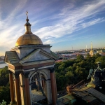 New Instagram: Saint Petersburg view from rooftop of St. Isaac's Cathedral