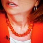 New Instagram: political TV lady on Meet the Press, your necklace bears an uncanny resemblance to salmon roe caviar #notsurehowtohashtagthis