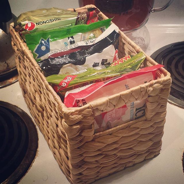 Bathroom Organizers Target new instagram: found this ramen organizer miscategorized in
