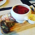 New Instagram: obligatory borscht