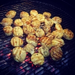 New Instagram: giant scallops bbqing… beautiful