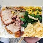 New Instagram: 天天吃便當才有錢可以去吃生魚片丼飯 不過台灣便當這麼好吃,我一定可以天天吃